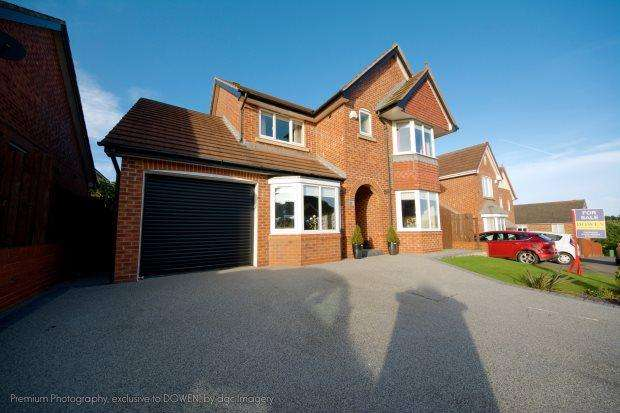 4 Bedrooms Detached House for sale in GRASSHOLME ROAD, ELWICK RISE, HARTLEPOOL