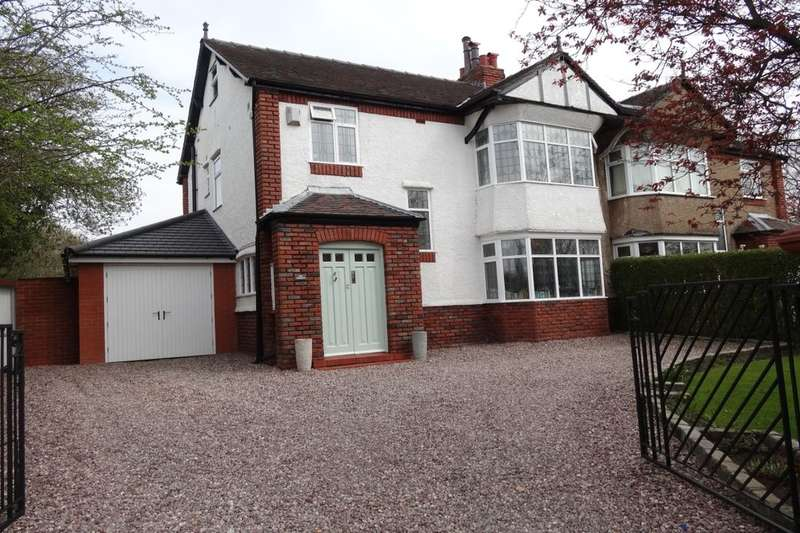 4 Bedrooms Semi Detached House for sale in Garstang Road, Fulwood, Preston, PR2