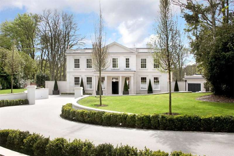 7 Bedrooms Detached House for sale in Spring Woods, Wentworth, Virginia Water, Surrey, GU25