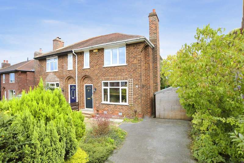 3 Bedrooms Semi Detached House for sale in Woodlands Drive, Harrogate