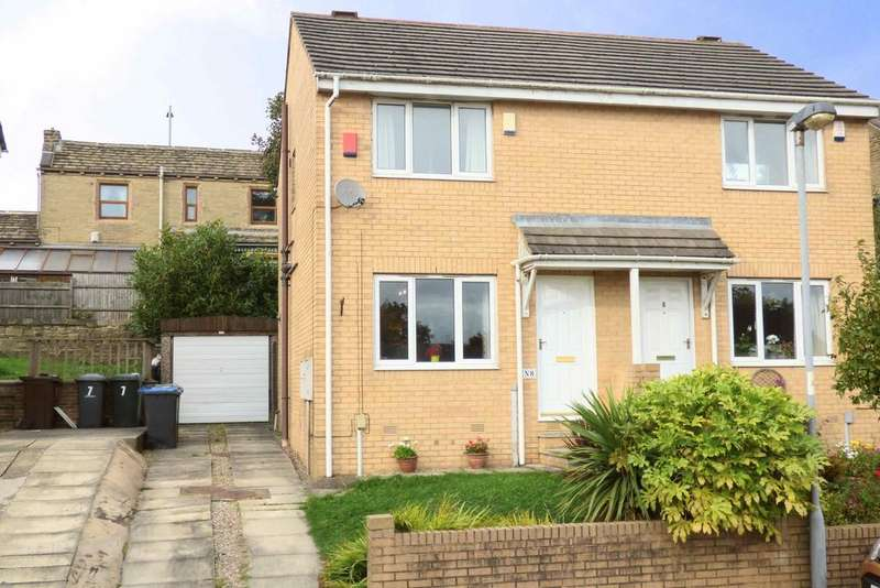 2 Bedrooms Semi Detached House for sale in Wellgarth, Buttershaw BD6