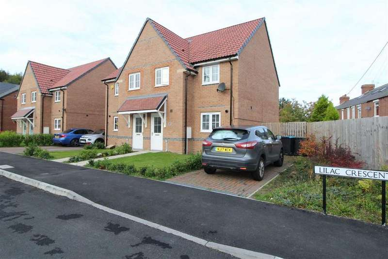 3 Bedrooms Semi Detached House for sale in Lilac Crescent, Burnopfield, Newcastle Upon Tyne