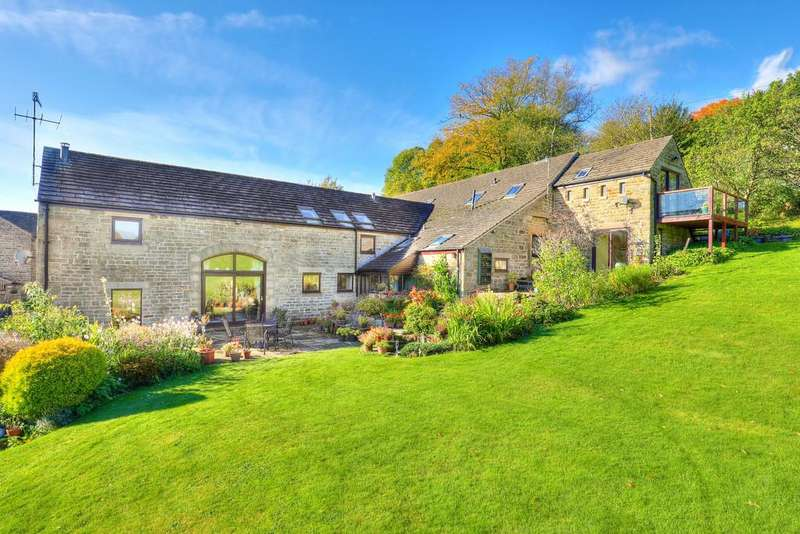 5 Bedrooms Barn Conversion Character Property for sale in Hathersage Road, Grindleford, Hope Valley