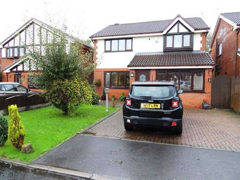 5 Bedrooms Detached House for sale in Saddle Grove, Littlemoss, Manchester