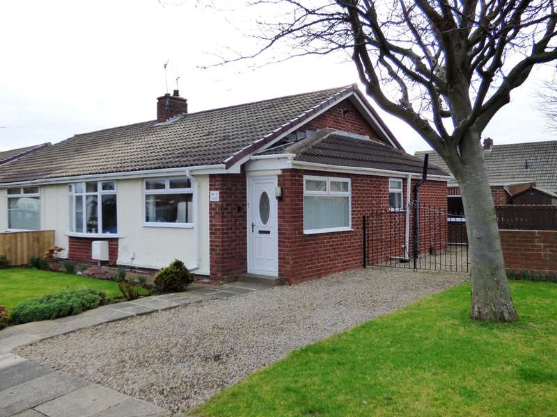 2 Bedrooms Semi Detached Bungalow for sale in Ludlow Crescent, Redcar
