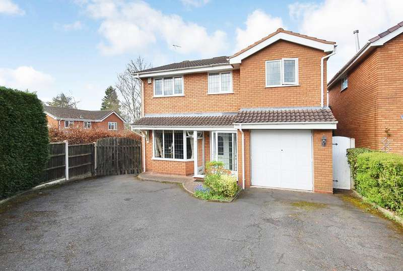 4 Bedrooms Detached House for sale in FARLEIGH ROAD, Perton, Wolverhampton WV6