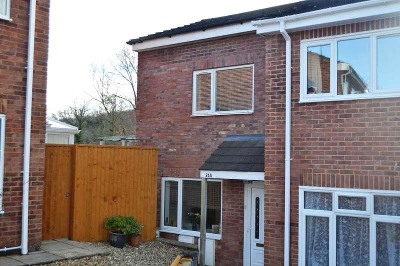 2 Bedrooms End Of Terrace House for sale in Hawthorn Grove, Exmouth