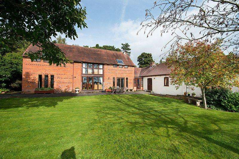 4 Bedrooms Detached House for sale in Habberley Road, Bewdley DY12 1LD