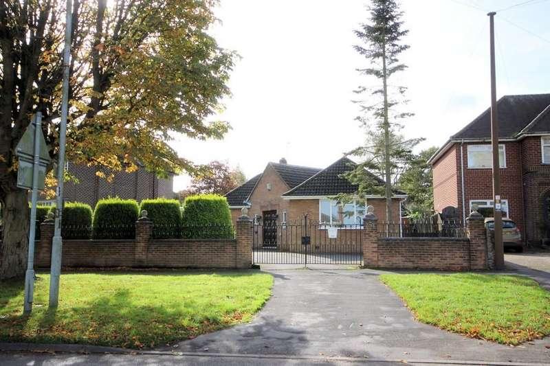 2 Bedrooms Detached Bungalow for sale in Burton Road, Ashby-de-la-Zouch