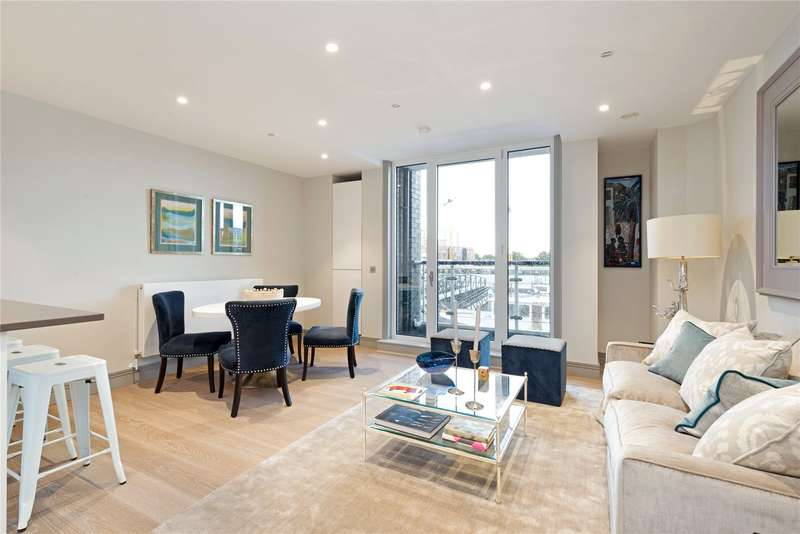 2 Bedrooms Flat for sale in Calico House West, Plantation Wharf, Battersea, London, SW11