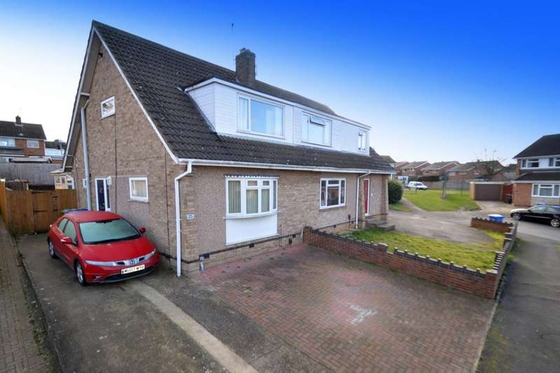 3 Bedrooms Semi Detached House for sale in St. Christophers Close, Kettering, NN15