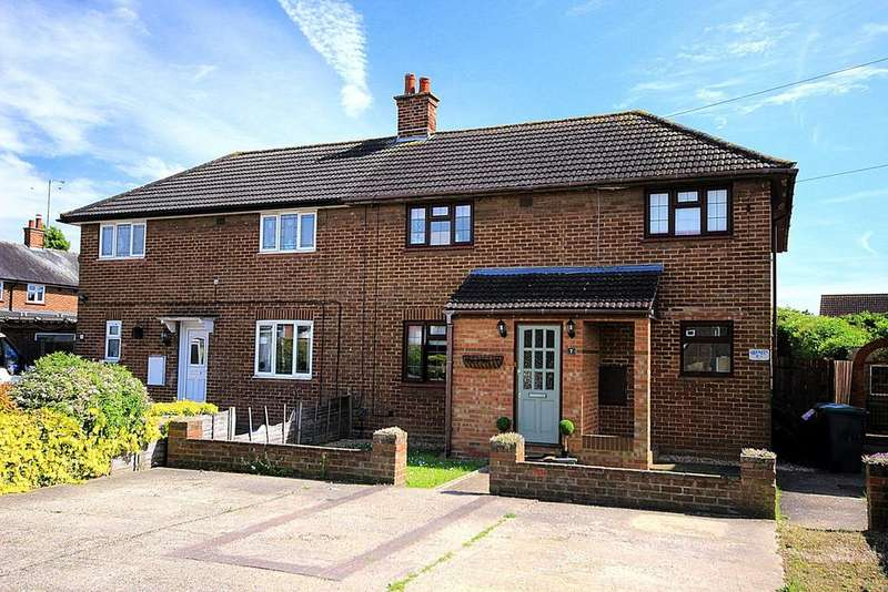 3 Bedrooms Semi Detached House for sale in Jubilee Crescent, ARLESEY, SG15