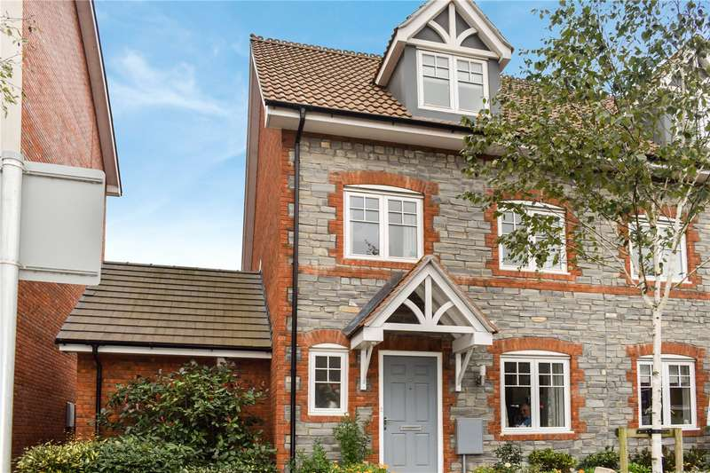 4 Bedrooms Semi Detached House for sale in Glastonbury Road, Wells, Somerset, BA5