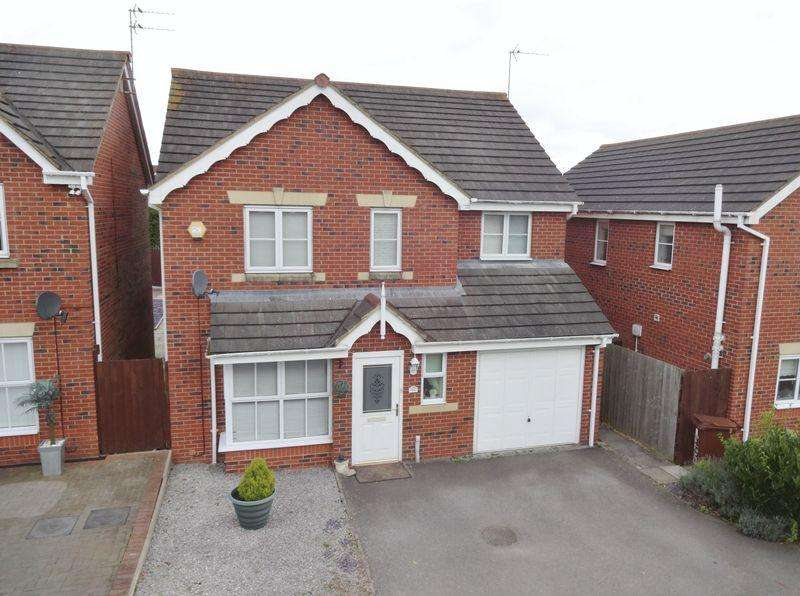 4 Bedrooms Detached House for sale in Buttercup Close, Oakley Vale, Corby