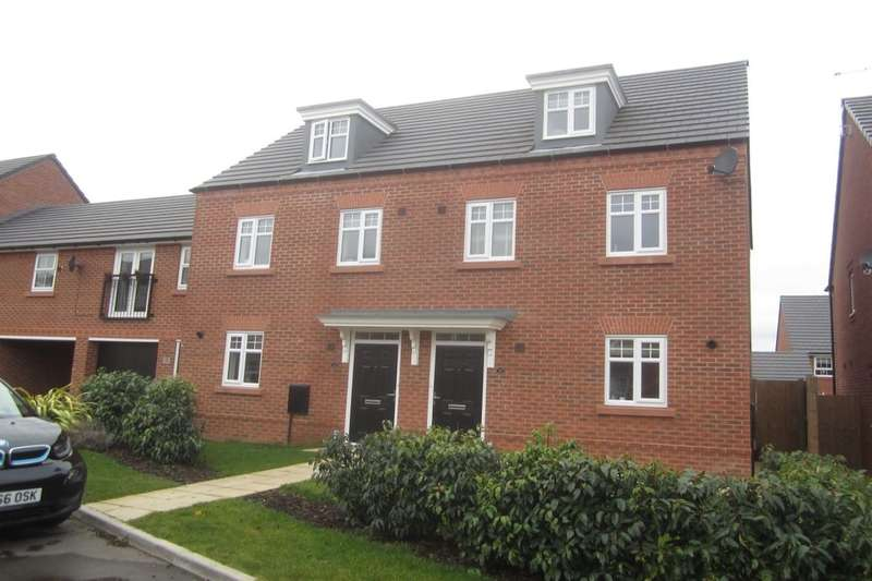3 Bedrooms Semi Detached House for sale in Buttonbush Drive, Stapeley, Nantwich, CW5