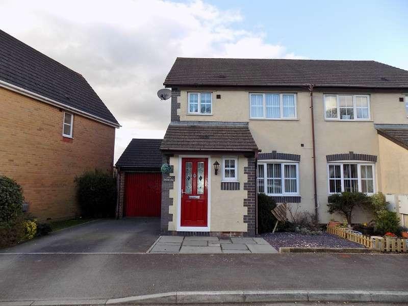 3 Bedrooms Semi Detached House for sale in Hunters Ridge, Tonna, Neath, Neath Port Talbot. SA11 3FE