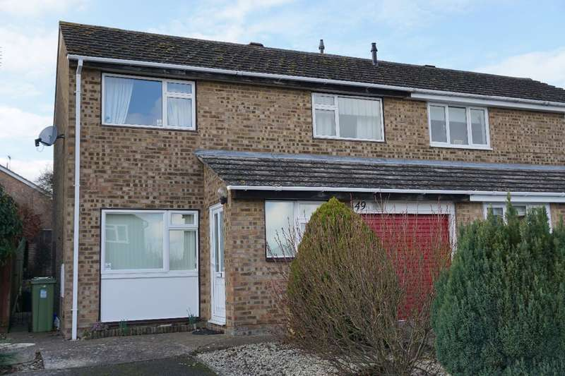 3 Bedrooms Semi Detached House for sale in WEST SIDE RISE, OLNEY