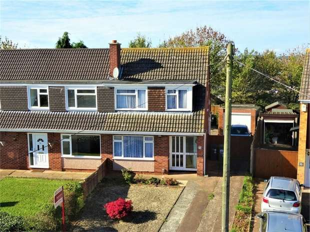 3 Bedrooms Semi Detached House for sale in Broadfields Road, EXETER, Devon