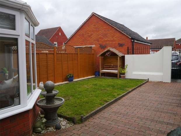 3 Bedrooms End Of Terrace House for sale in Monterey Road, Walton Cardiff, Tewkesbury, Gloucestershire