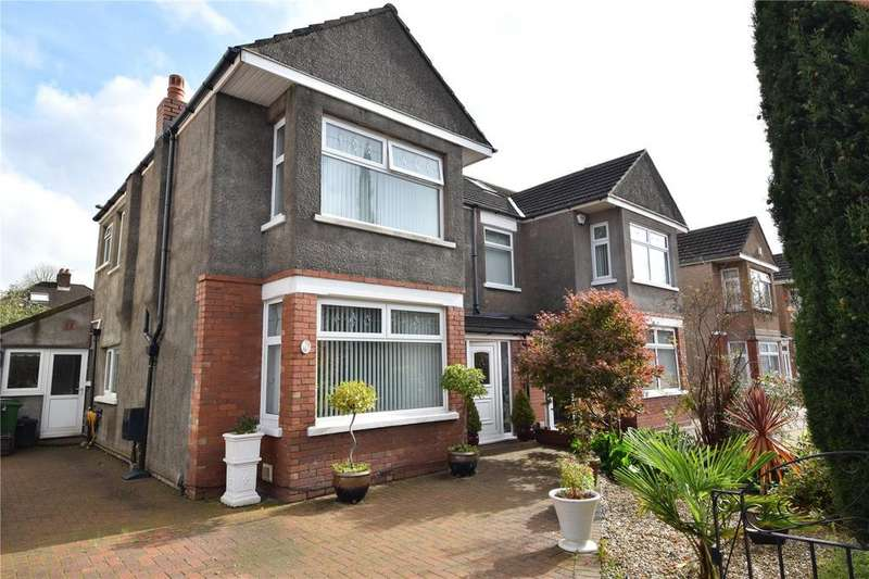 4 Bedrooms Semi Detached House for sale in St Agatha Road, Heath, Cardiff, CF14