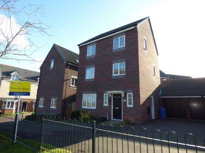5 Bedrooms Detached House for sale in Homerton Vale, Mickleover, Derby, Derbyshire