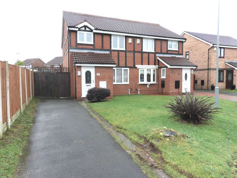 3 Bedrooms Semi Detached House for sale in Moorfoot Way, Melling Mount