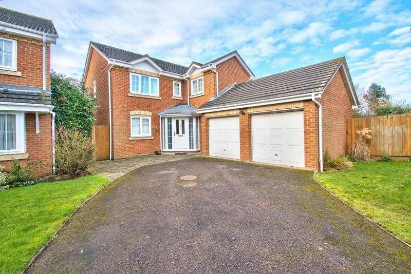 4 Bedrooms Detached House for sale in Hillesden Avenue, Elstow, Bedford, MK42 9AJ