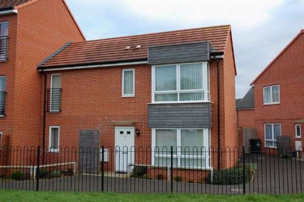 2 Bedrooms Semi Detached House for sale in Booth Rise, Boothville, Northampton NN3 6HR