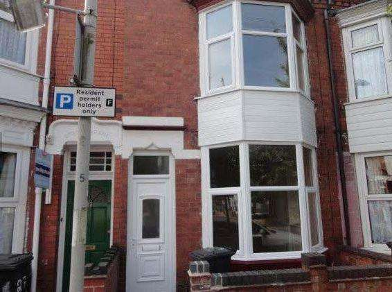 3 Bedrooms Terraced House for rent in Norman Street, Leicester, Leicester