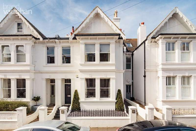 5 Bedrooms Terraced House for sale in Stanford Road, Brighton, BN1