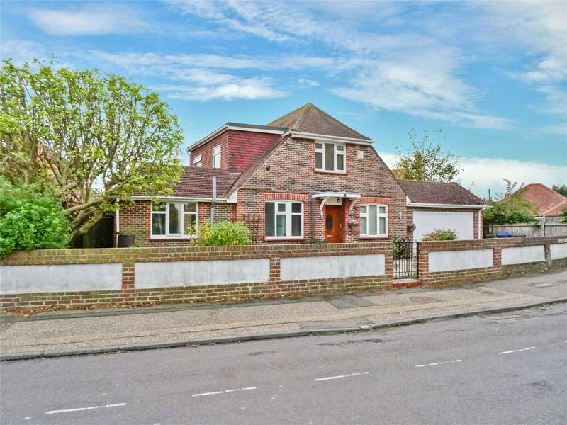 4 Bedrooms Detached House for sale in Garrick Road, Broadwater, Worthing, BN14