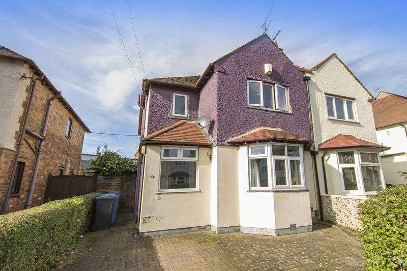 3 Bedrooms Semi Detached House for sale in ROWDITCH AVENUE, DERBY