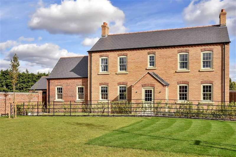 4 Bedrooms Detached House for sale in Abbots Way, Scothern, Lincoln, Lincolnshire