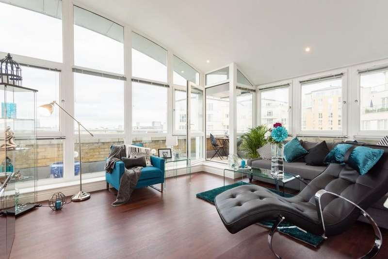 2 Bedrooms Penthouse Flat for sale in Cedar House Canada Water SE16