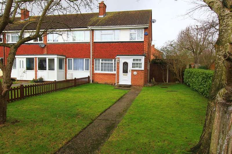 3 Bedrooms End Of Terrace House for sale in Moss Path, Galleywood, Chelmsford, Essex, CM2