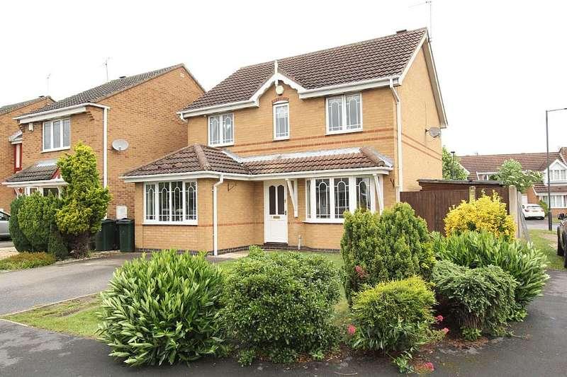 3 Bedrooms Detached House for sale in Springwood Close, Branton, Doncaster, South Yorkshire, DN3 3UD