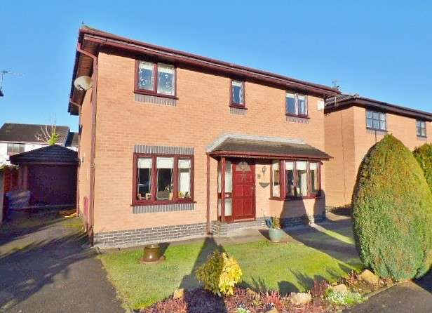 3 Bedrooms Detached House for sale in Cabot Close, Old Hall, Warrington