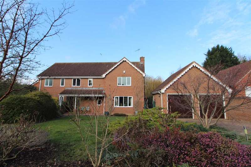 5 Bedrooms Detached House for sale in Daundy Close, Ipswich