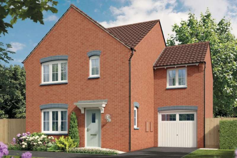 4 Bedrooms Detached House for sale in Cranwell Ashberry Homes Robins Wood Road, Nottingham, NG8