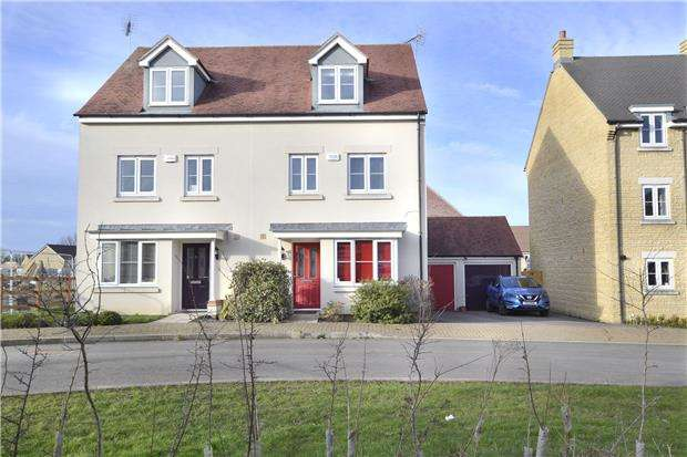 4 Bedrooms Town House for sale in Cannon Corner, Brockworth, GLOUCESTER, GL3 4FD