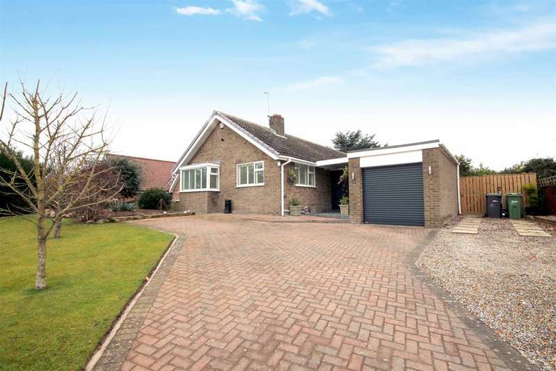 3 Bedrooms Detached Bungalow for sale in Westerly Edge, Main Street, Wheldrake, York, YO19 6AH