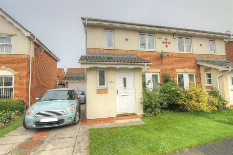 3 Bedrooms Semi Detached House for sale in Clowbeck Court, Faverdale, Darlington, DL3