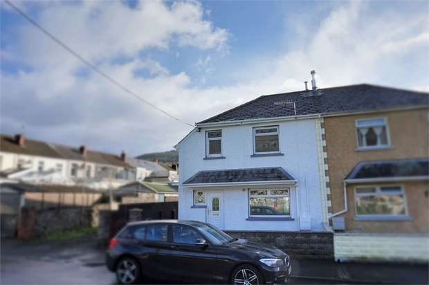 3 Bedrooms Semi Detached House for sale in Vaughan Avenue, Resolven, Neath, West Glamorgan