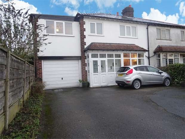 5 Bedrooms Semi Detached House for sale in Hawthorn Street, Wilmslow, Cheshire