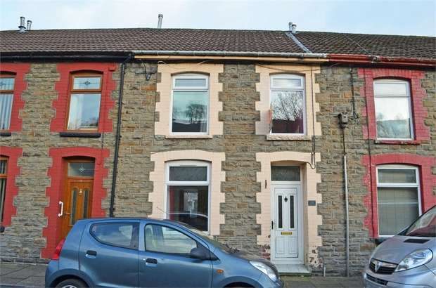 3 Bedrooms Terraced House for sale in Standard Terrace, Porth, Mid Glamorgan