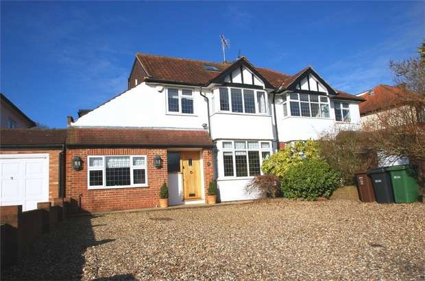 4 Bedrooms Semi Detached House for sale in Stanley Avenue, St Albans, Hertfordshire