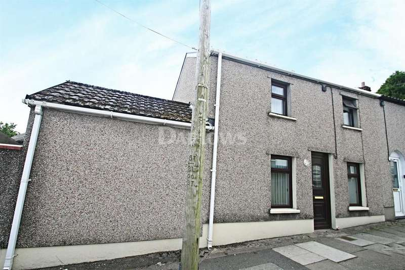 2 Bedrooms End Of Terrace House for sale in Queen Victoria Street, Tredegar, Gwent