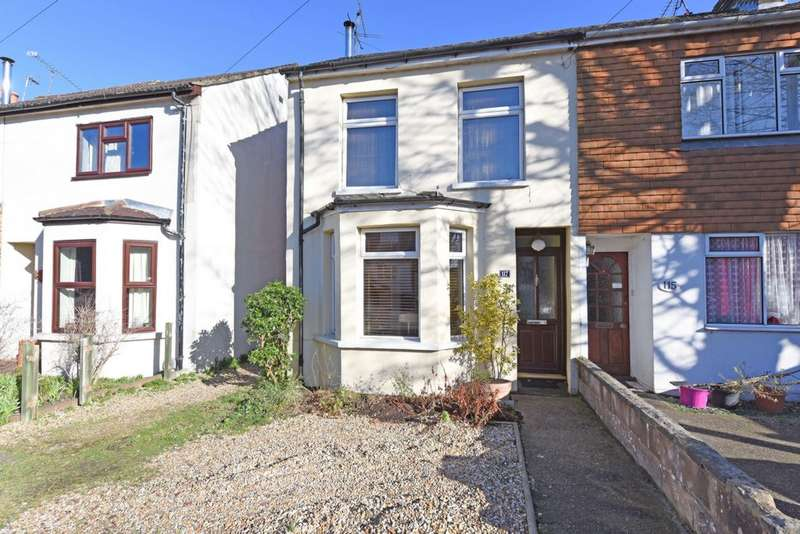 2 Bedrooms Semi Detached House for sale in Peabody Road, North Camp, GU14