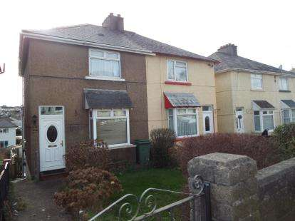 2 Bedrooms Semi Detached House for sale in Pomphlett, Plymstock, Plymouth
