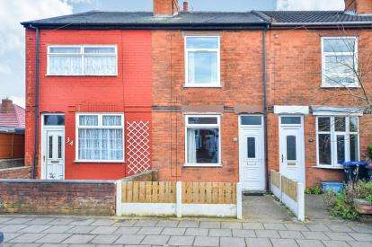 2 Bedrooms Terraced House for sale in Queen Street, Sutton In Ashfield, Nottinghamshire, Notts